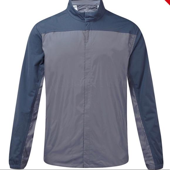 a40ea61034ae Nike Men s Golf Windbreaker NWT Blue Gray